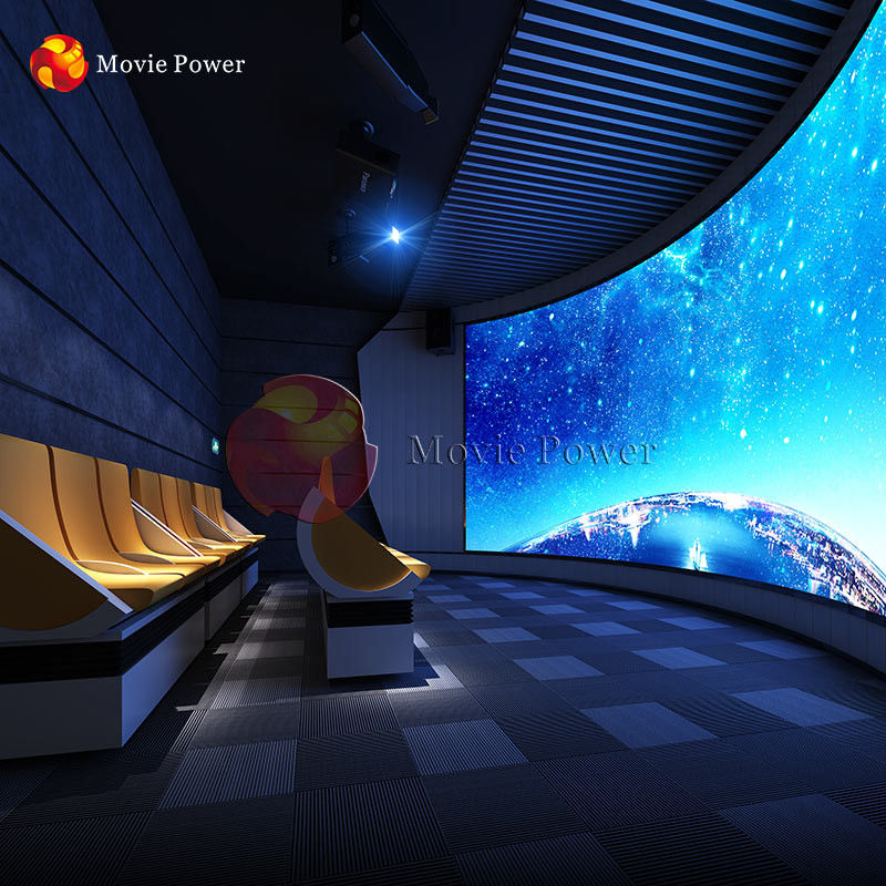 Movie Power Theme Park Motion Cinema Chairs 4D Movie Theater